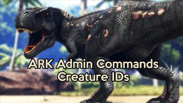 Ark survival evolved creature ids survival sandbox ark creature id malvernweather Image collections