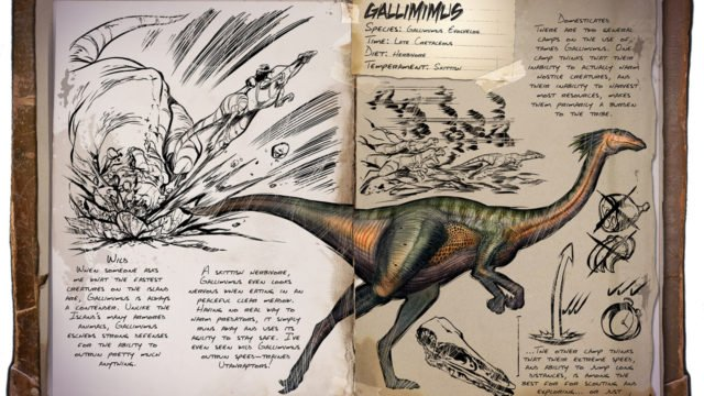 ARK Patch v233.0 - Gallimimus Dossier