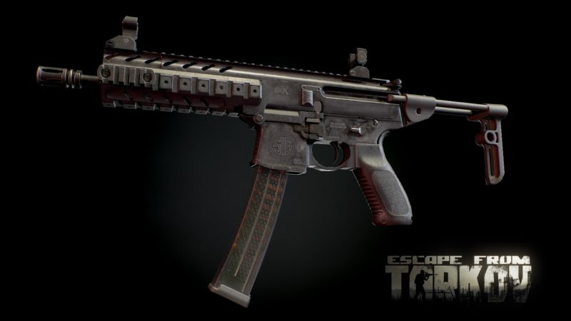Escape from Tarkov - SCAV-Update SIG MPX SMG