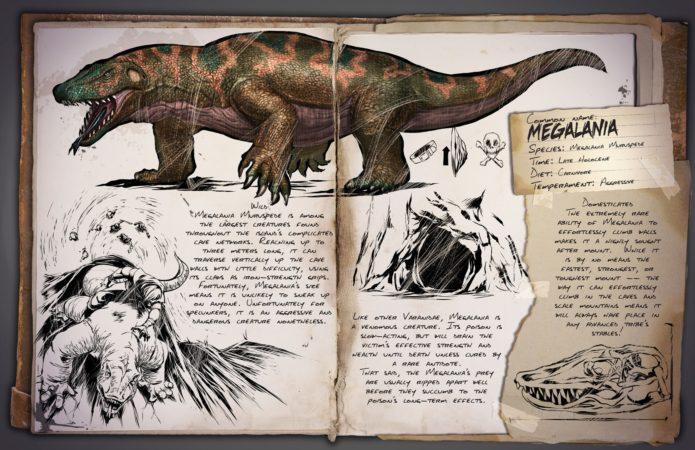 ARK Patch v258.0 - Megalania Dossier