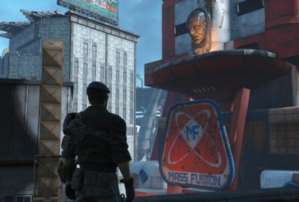 Fallout 4 - Mass-Fusion-Tower, das Herz Bostons