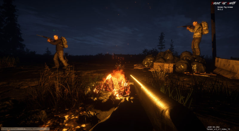 Survive the Nights - Mod Test und Ergebnisse