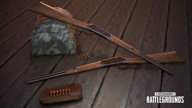 PlayerUnknown's Battlegrounds Winchester 1894