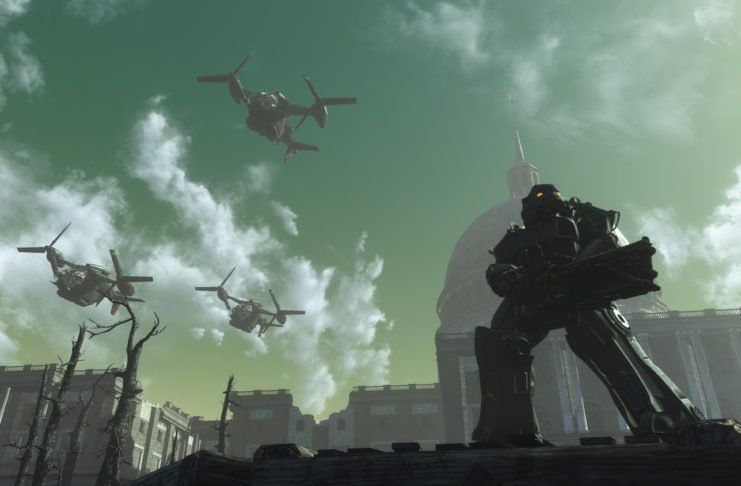 Fallout 3 in Fallout 3 - Capital Wasteland eingestellt