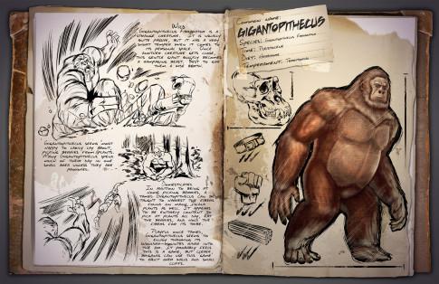 ARK Dossier Gigantopithecus