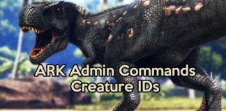 ARK Creature ID