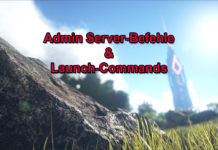 ARK Server Befehle & Launch-Commands