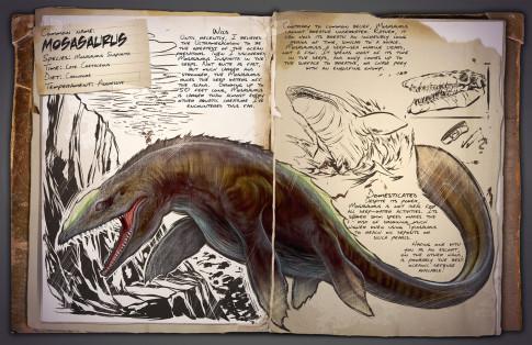 Dossier Mosasaurus