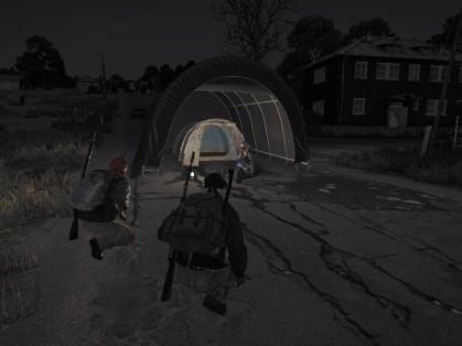 DayZ 0.58 Car Tent