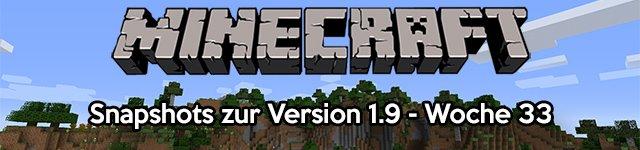 Minecraft Snapshot 15w33b