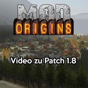 DayZ Origins Mod Patch 1.8
