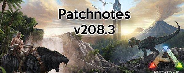ARK Patch v208.3