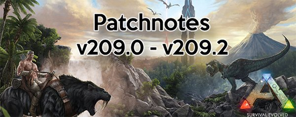ARK Patch v209.2 v209.1 v209.0