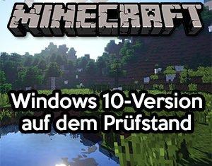 Minecraft Windows 10 Review
