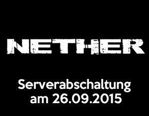 Nether Serverabschaltung