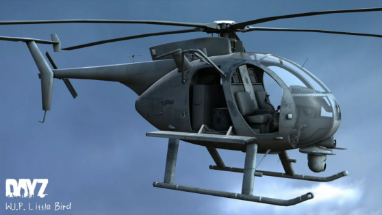 DayZ Standalone Helikopter Little Bird
