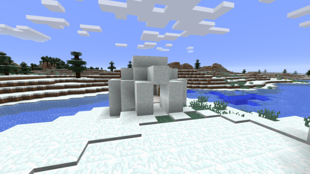 Minecraft 1.9 - Minecraft Iglu