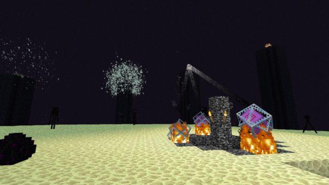 Minecraft 1.9 - Minecraft Ende wird zurückgesetzt