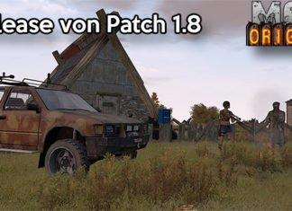 DayZ Origins Patch 1.8