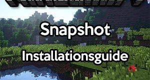 Minecraft Snapshot installieren