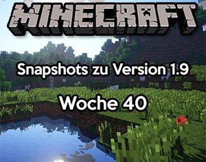 Minecraft Snapshot 15w40b