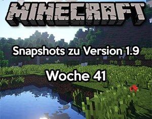 Minecraft Snapshot 15w41b