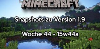 Minecraft Snapshot 15w44a