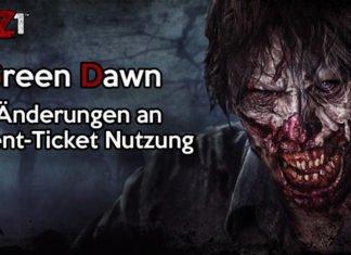 H1Z1 Green Dawn: Event-Ticket Änderungen