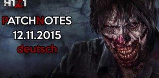 H1Z1 Game Update 12.11.2015