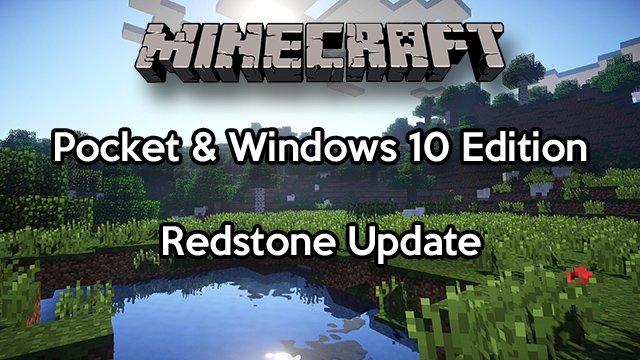 Minecraft PEWin Redstone Endlich Da SurvivalSandboxde - Minecraft spiele arten