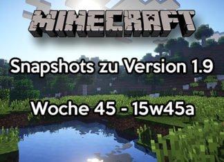 Minecraft Snapshot 15w45a