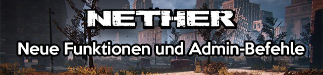 Nether - Headbob-Option & neue Admin-Befehle