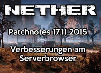 Nether Patchnotes 17.11.2015