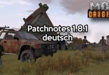 DayZ Origins Mod Patch 1.8.1