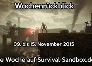 Wochenrückblick - 09. bis 15. November 2015