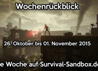 Wochenrückblick - 26. Oktober bis 01. November 2015