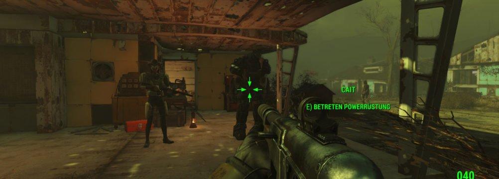 Fallout 4 Begleiter Powerrüstung