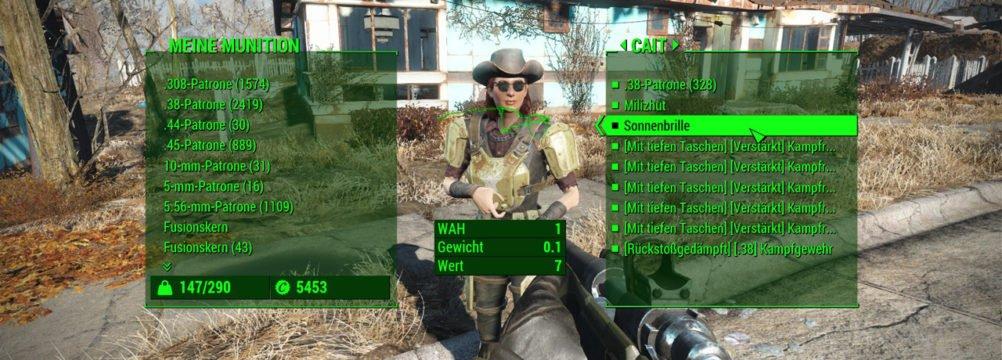 Fallout 4 Begleiterguide - Fallout 4 - Fallout 4 Begleiter - Fallout 4 Begleiter Ausrüstung
