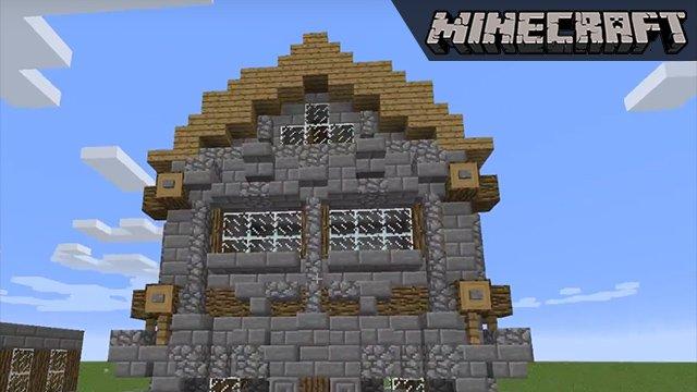 Video Schöner Bauen In Minuten Zu Einem Schickeren Minecraft - Minecraft hauser bauen spiele