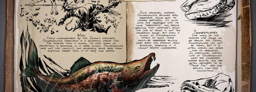 ARK Patch v240 - Sabertooth Salmon Dossier