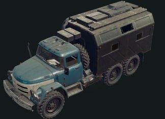 Battlegrounds Truck & Umwelt-Screenshots