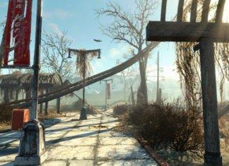 Fallout 4 Nuka-World DLC Map