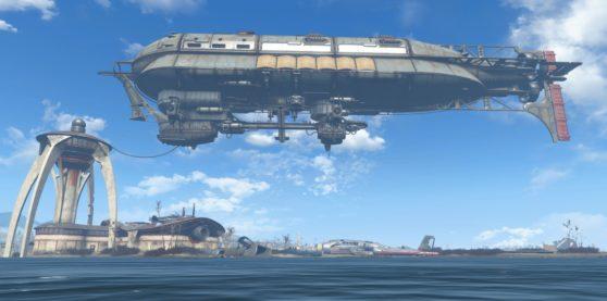 Prydwen Flughafen Boston Fallout 4