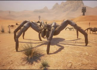 Conan Exiles Spinnen