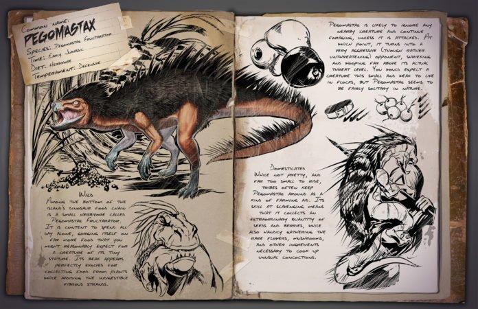 ARK v253 Kreaturen - Pegomastax