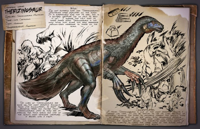 ARK v253 Kreaturen - Therizinosaurus