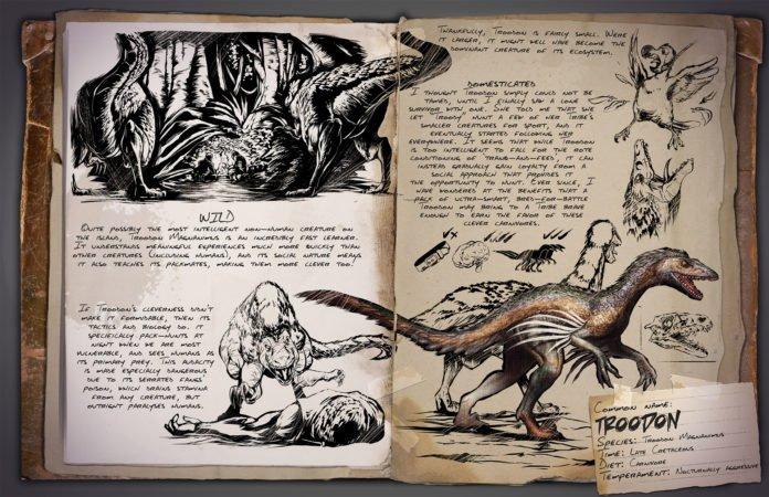ARK v253 Kreaturen - Troodon