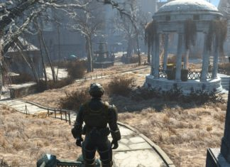 Fallout 4 - Boston Common - Swanns Teich