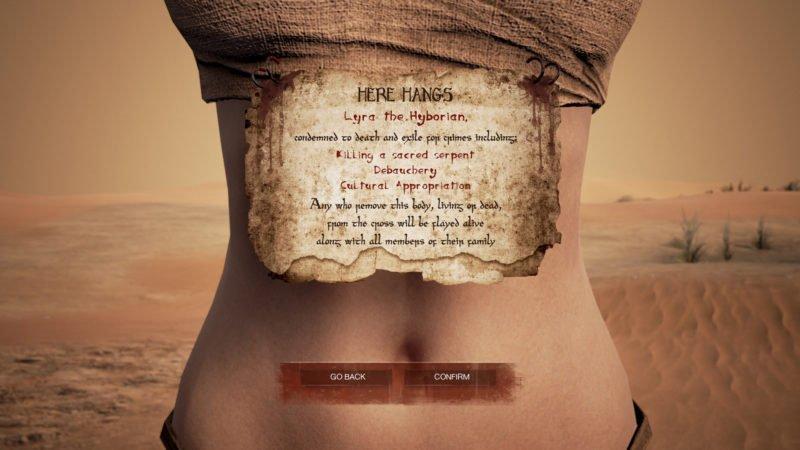 Conan Exiles Devblog 3 Charaktererstellung
