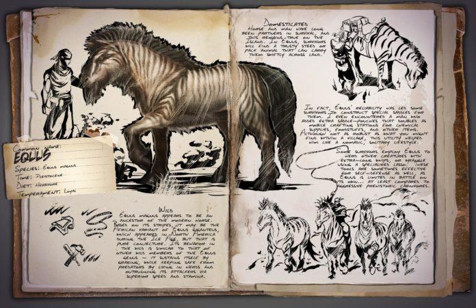 ARK Dino Dossier - Equus